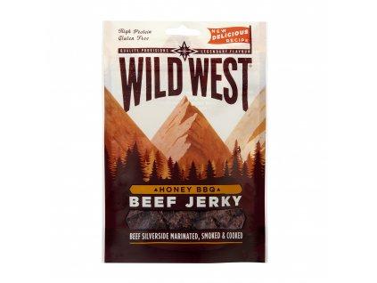 Wild West Beef Jerky Honey BBQ 25g