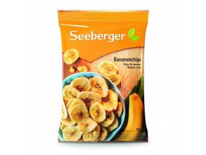 Seeberger Banánové chipsy 150g