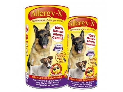 Allergy-X Přírodní prostředek proti alergiím pro psy 150g