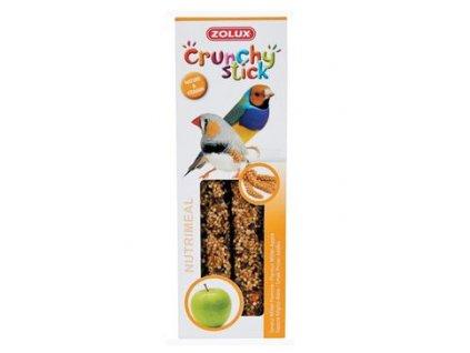 Crunchy Stick Exotic Proso/Jablko 2ks Zolux