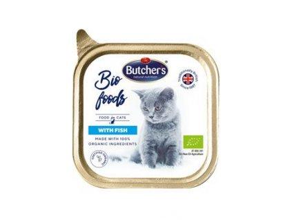 Butcher's Cat Bio s rybou vanička 85g