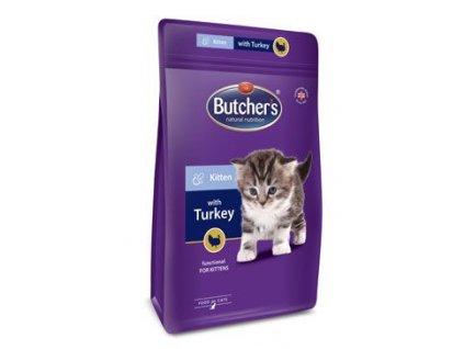 Butcher's Cat Pro Series Kitten s krůtou 800g