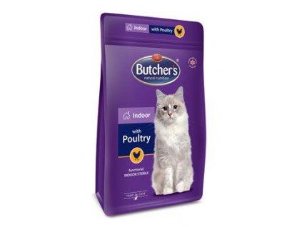 Butcher's Cat Pro Series Indoor s drůbežím 800g
