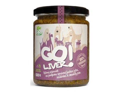 GOliver bylinná pasta pro psy 520g