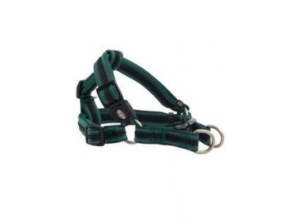 Postroj BUSTER Airmesh reflexní L, 25mm zelený
