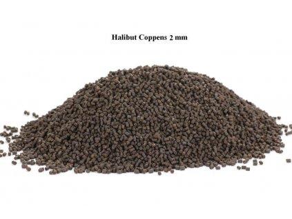 24233 coppens pelety mini halibut krmivo krmivo pro pludek 2 mm 1 kg