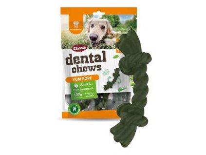 Dental Chews Yum Rope máta a čaj 170g/22ks