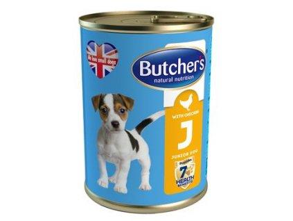 Butcher's Dog Junior s kuřecím masem konzerva 400g