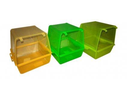 34231 1 plastova koupelna pro papousky