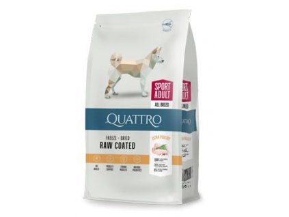 QUATTRO Dog Dry Premium All Breed ACTIVE Adult 3kg