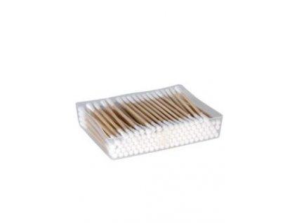 Tyčinky vatové kosmetické 7,5cm dřevěné 200ks Kruuse