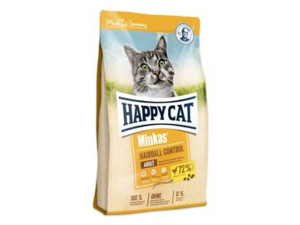 Happy Cat Minkas Hairball Contrl. Geflugel 1,5kg