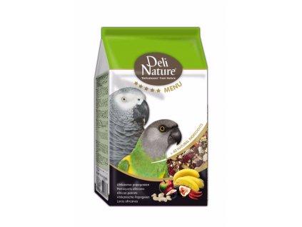 Deli Nature 5 Menu africký papoušek 800 g