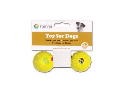Hračka pes Činka malá se zvonkem, 11,5cm