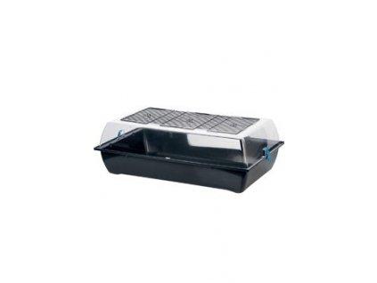 Box hlodavec INDOOR Vision XL černý/modrý Zolux