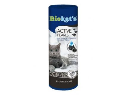 Biokat's uhlí do WC Active pearls 700ml