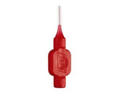Zub.kartáček TePe 0,5mm mezizubní červený 8ks