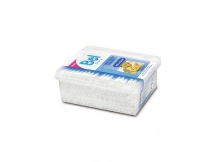 BEL tyčinky vatové krabička 200ks