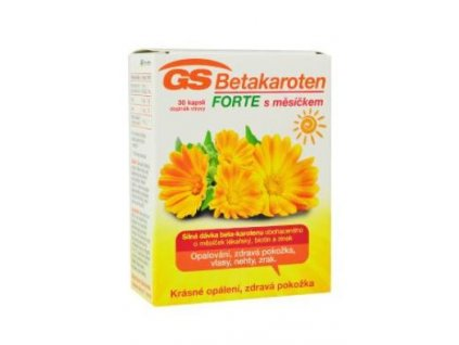GS Beta karoten Forte s měsíčkem 30cps