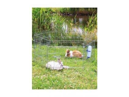 Ohrádka kovová pro králíky 6 dílů/60x63cm TR 1ks