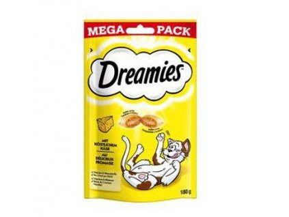 26432 dreamies kocka pochoutka mega pack se syrem 180g