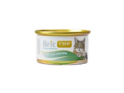 Brit Care Cat Kitten konz.kuřecí prsa 80g