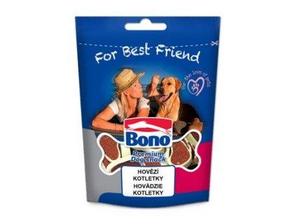Bono pochoutka pes Hovězí kotletky 100g
