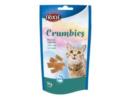 Trixie CRUMBIES LIGHT se sladem kočka 50g TR