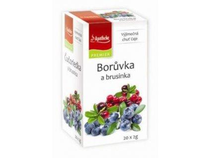 Čaj Apotheke Borůvka a brusinka 20sacc