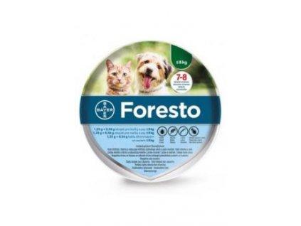 Foresto antiparazitní obojek kočka a pes do 8 kg 38 cm