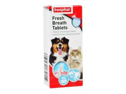 Beaphar Fresh Breath tablety pes
