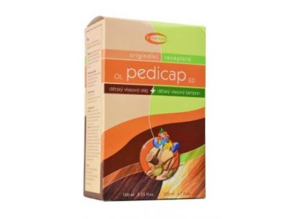 PEDICAP dětský olej 100ml+šampon na vši 200ml TOPVET