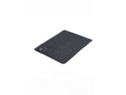Předložka PVC s tlapkou, šedá k WC 40 x 60cm TR