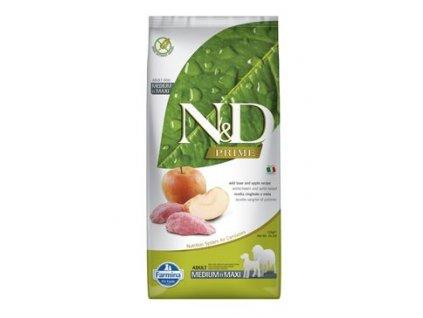 N&D PRIME DOG Adult M/L Boar & Apple 12kg