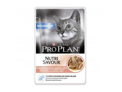 pro plan cat housecat losos kapsicka 24x85g 1