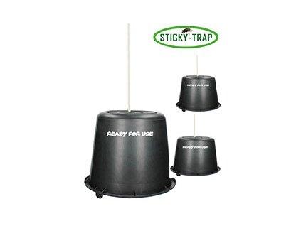 Sticky Trap Černý Kyblík 3 ks, Set 3 ks