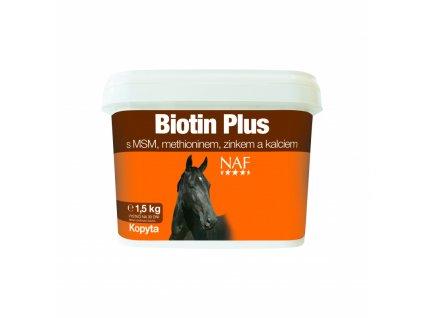 Biotin plus pro zdravá kopyta, kyblík 1,5 kg
