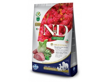 N&D Quinoa DOG Digestion Lamb & Fennel 800g