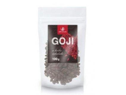 Allnature Goji v hořké čokoládě 100g