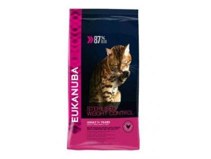 Eukanuba Cat Adult Sterilised /Weight Control kuře 3kg