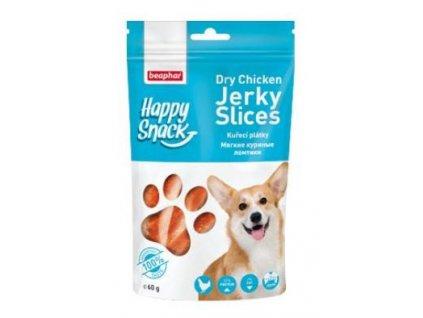 Beaphar Dog Happy Snack pochoutka kuřecí plátky 60g