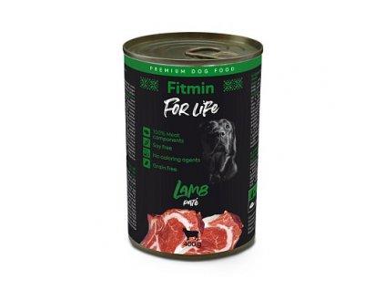 ffl dog tin lamb 400 g xy h L