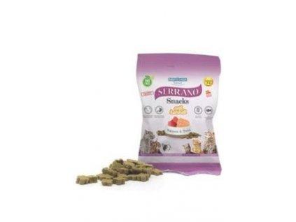 Serrano Snack for Cat AntiHairball Salmon & Tuna 50 g
