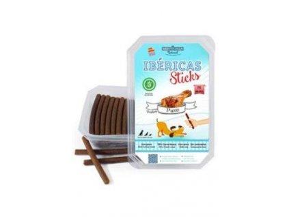 Ibéricas Sticks Dog Snack Turkey (75 ks)