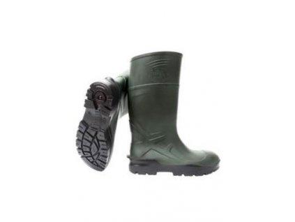 Holínky Techno boots model Classic zelené vel.41