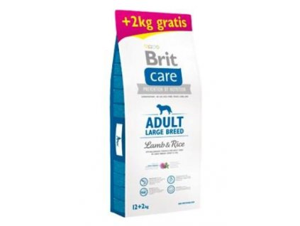 Brit Care Dog Adult Large Breed Lamb & Rice 12+2kg