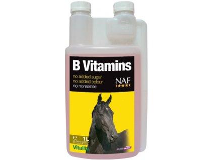 B vitamins pro soustředěnost a vitalitu koní, láhev s dávkovačem 1000 ml