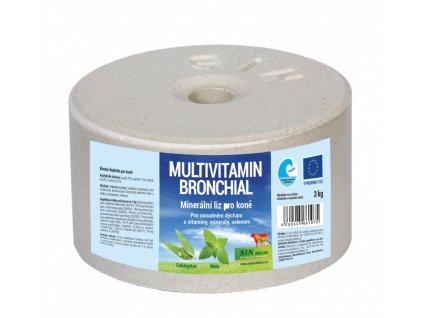 Bronchial, minerální multivitaminový liz na uvolnění dýchacích cest, balení 3kg