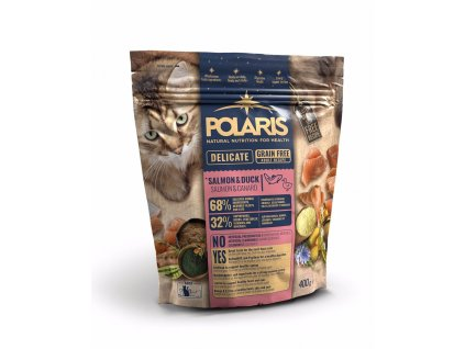 Polaris Cat Adult losos & kachna 400 g