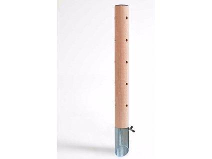 Psí pisoár design 2 dřevěný 40 cm